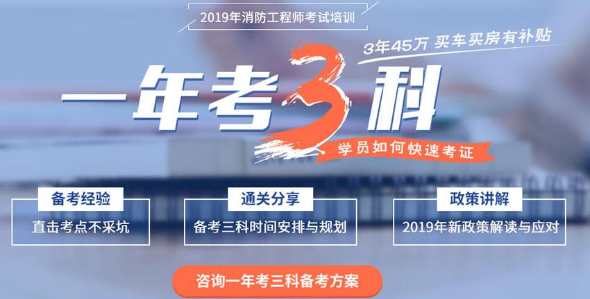 2019六安裕安区一级消防工程师培训班