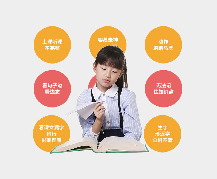 提高孩子注意力记忆力课程