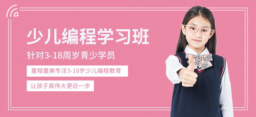 徐州3-18周岁青少学员编程课程