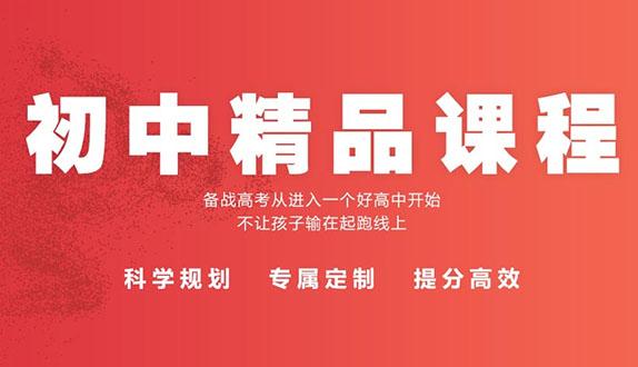 济南初中文化课辅导