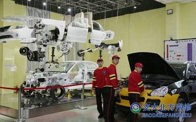 汽车运用与维修中专班