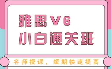 大连汇维雅思V6小白全程班