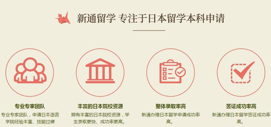 新通留学 专注于日本留学本科申请