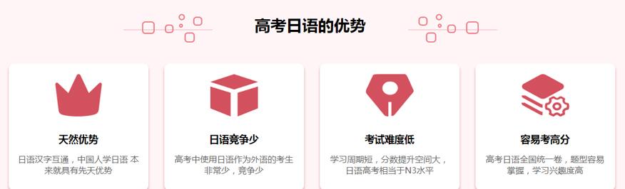 高考日语优势