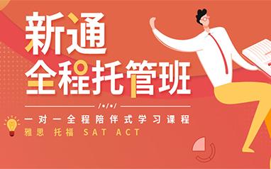 北京新通ACT全程托管一对一培训班