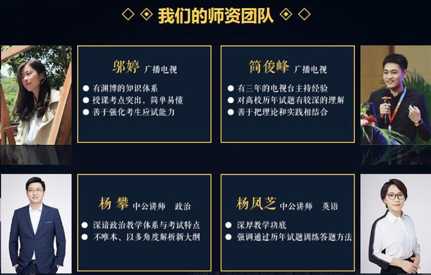 中公考研廣播電視類
