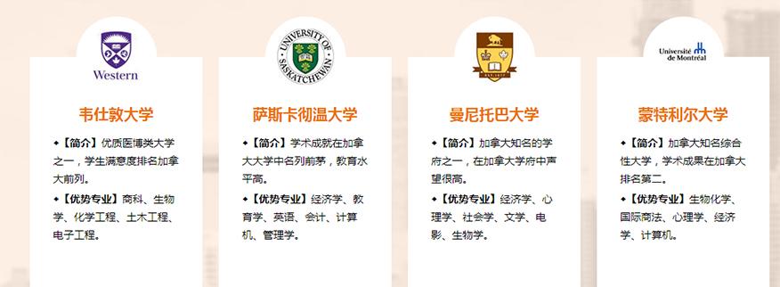 新通留学培训学校-加拿大硕士留学名校优势专业