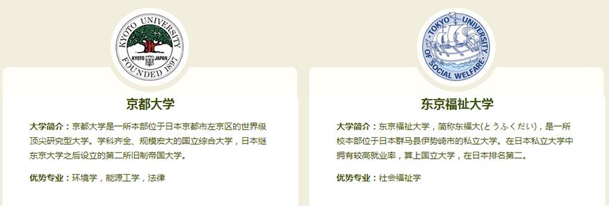 新通留学培训学校-日本本科留学申请名校2