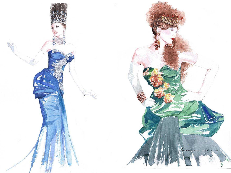 杭州女装设计作品集找一对一辅导去哪好