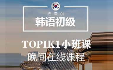 韩语初级基础T1小班课(晚间班)