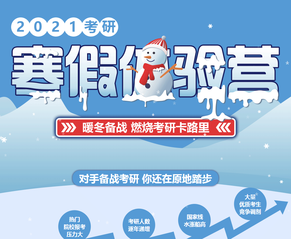 信阳2021年中公考研寒假体验营