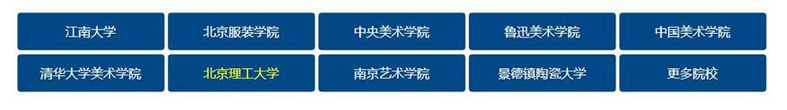 中公考研学校-设计类22考研院校