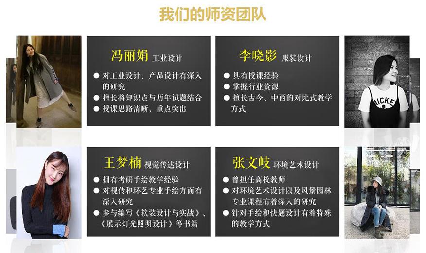 中公考研学校-设计类22考研师资团队