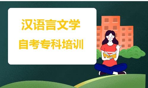 新疆大学汉语言文学自考专科培训