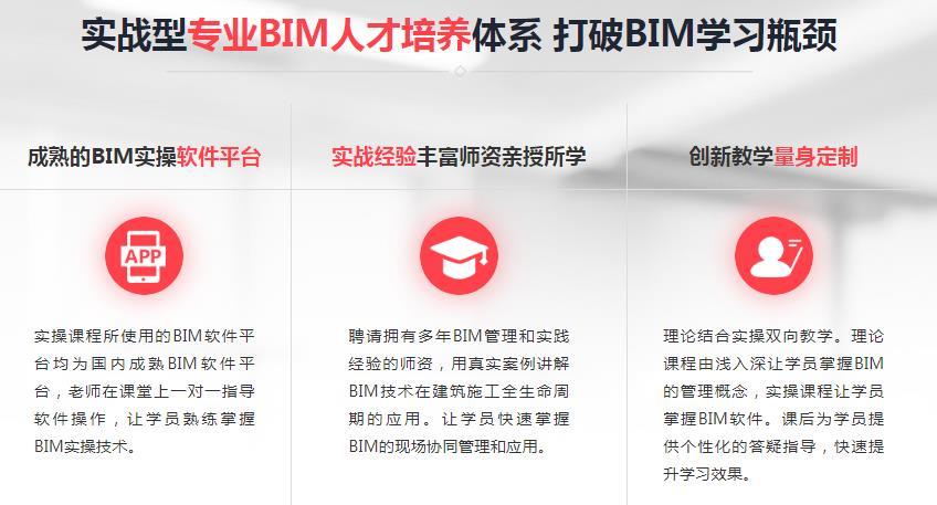 實戰型專業BIM人才培養體系