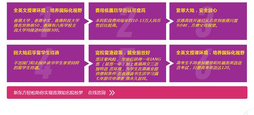 上海新东方前途出国培训学校-香港本科申请项目3