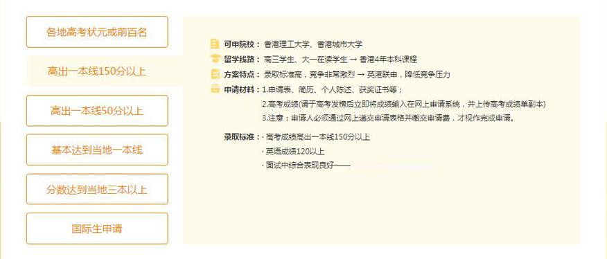 苏州新通留学培训学校-香港本科留学申请高出一本线150分及以上