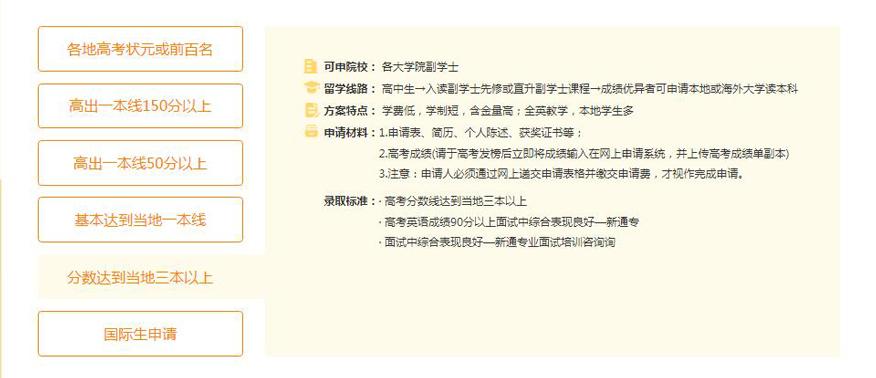 苏州新通留学培训学校-香港本科留学申请分数达到当地三本以上