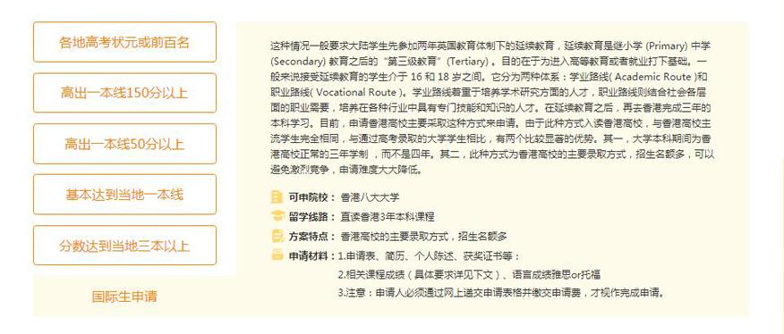 苏州新通留学培训学校-香港本科留学申请国际生申请