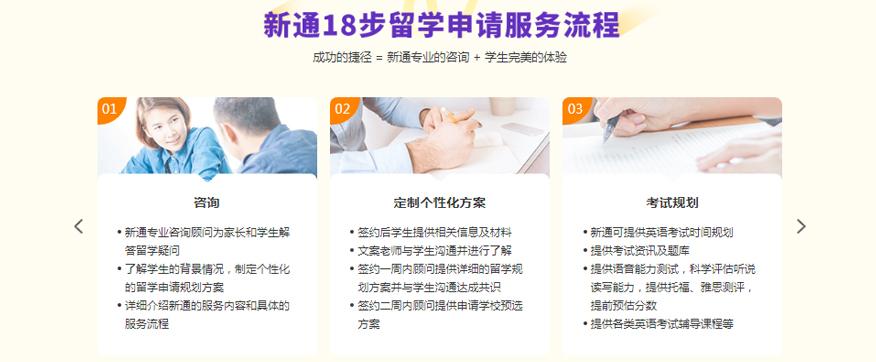 苏州新通留学培训学校-香港本科留学申请服务流程