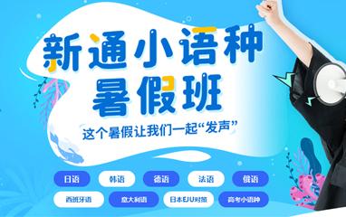 深圳新通欧亚小语种暑假班