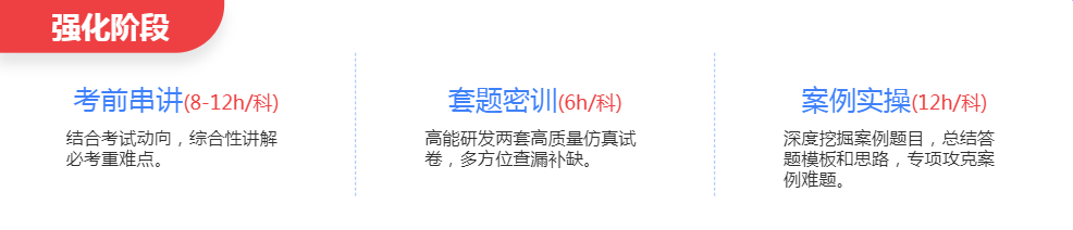 深圳中级安全工程师培训班强化阶段
