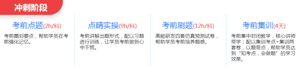 深圳中级安全工程师培训班冲刺阶段