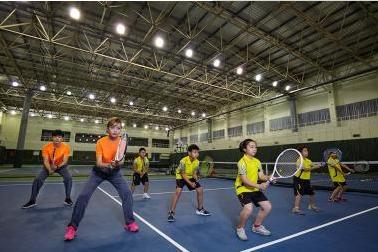 郑州动因少儿网球培训班