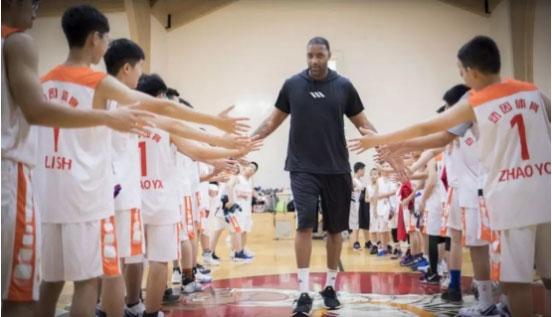 郑州动因少儿外教篮球培训班
