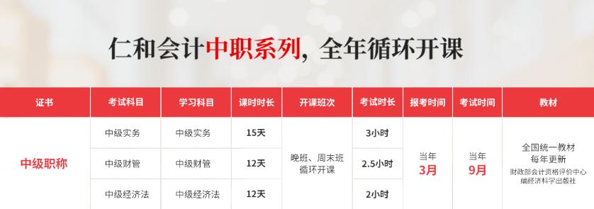 荆门中秋节假期学习会计培训机构学费多少钱